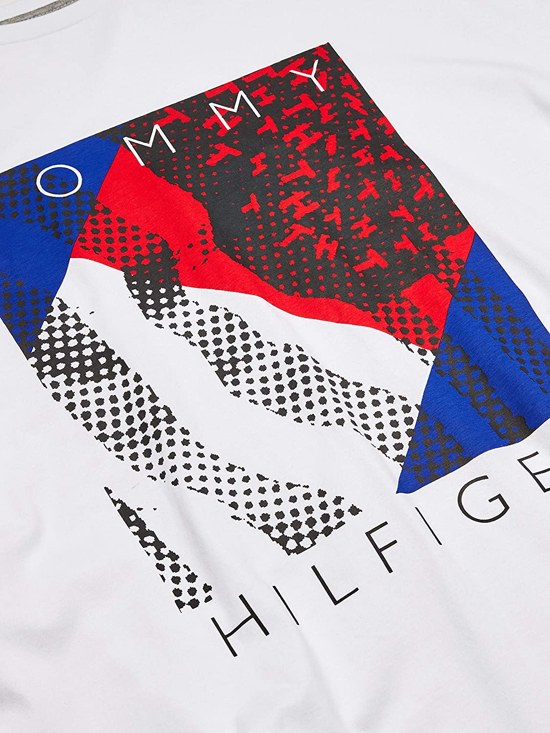 Tommy Hilfiger Men's Big and Tall Graphic T Shirt