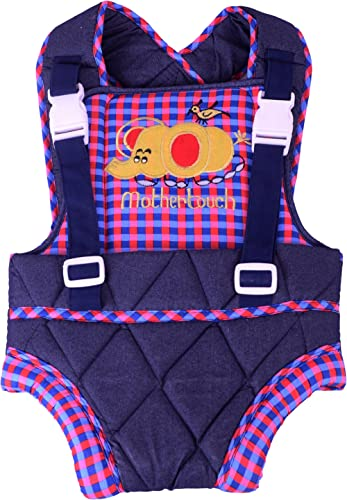 Mothertouch Baby Carrier (Blue/Red)