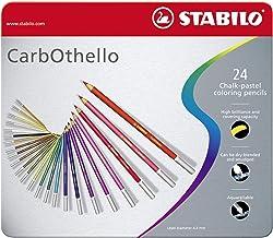 スタビロ 水彩色鉛筆 カーブオテロ 24色セット 1424-6