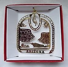 Grand Canyon Brass Christmas Ornament Travel Souvenir Gift