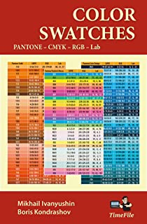 Color Swatches: Pantone – CMYK – RGB – Lab