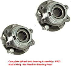 2 DTA Front Wheel Hub Bearing Full Assemblies NT513311G3 x2 Fits Front Left Right 2004-2006 Infiniti G35X AWD Only