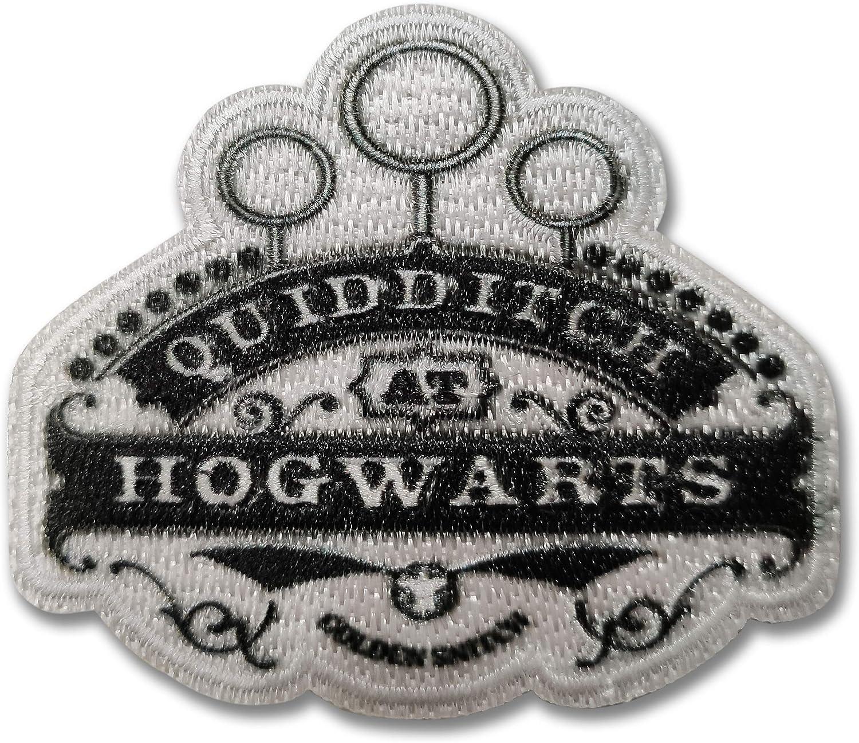 Panini Tessuti, Aplicaciones termoadhesivas para tejidos Harry Potter – Parche etiqueta termoadhesiva Harry Potter Hogwarts Quidditch