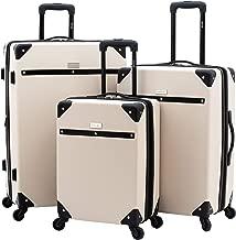 Travelers Club Luggage 3 Piece Classic Luggage Set