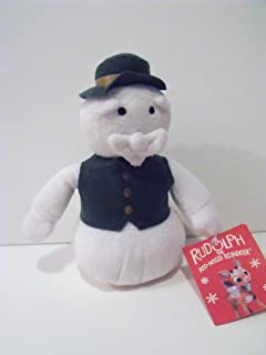 Rudolph the Red Nosed Reindeer Movie Plush Character: Snowman Narrator 6