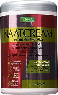 Nunaat Naat Hair Cream, Buriti and Ceramides, 35.2 Ounce