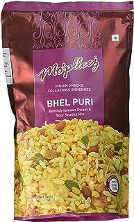 Haldiram Mo'pleez Bhel Puri Mix with Chutneys - Indian Snacks (Pack of 4)