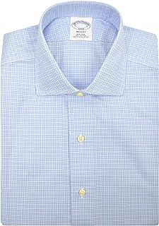 Mens Regent Fit Non Iron Cotton Dress Shirt Mini...