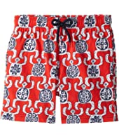 Vilebrequin Kids - Primitive Turtles Swim Trunk (Big Kids)