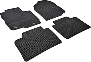 Autotech Park Custom Fit Car Floor Mat Compatible with 2014-2019 Mazda 3, All Weather Heavy Duty Floor Mat Set
