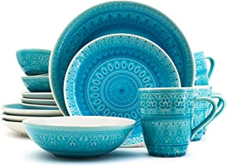 turquoise dinnerware collection