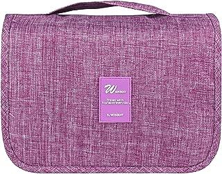 HDWISS Travel Hanging Toiletry Bag Waterproof Wash Bag Cosmetic Make up Organizer for Men & Women - Purple