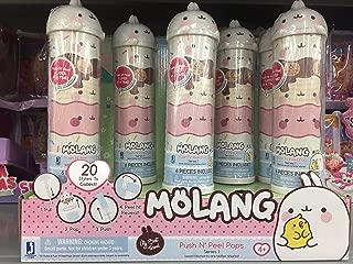 Molang Push N Peel Surprise Pop! 6 Layers If Surprise Fun!
