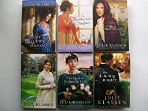 Julie Klassen Novel Series ( Set of 6) Lady of Milkweed Manor; The Apothecary's Daughter; The Silent Governess; The Girl i...