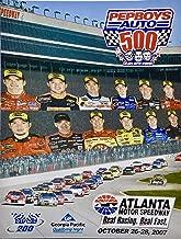 2007 - NASCAR/Atlanta Motor Speedway - Pep Boys Auto 500 Official Souvenir Program - With Extras - Rare - Collectible