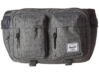 Herschel Supply Co. Eighteen (Raven Crosshatch) Travel Pouch