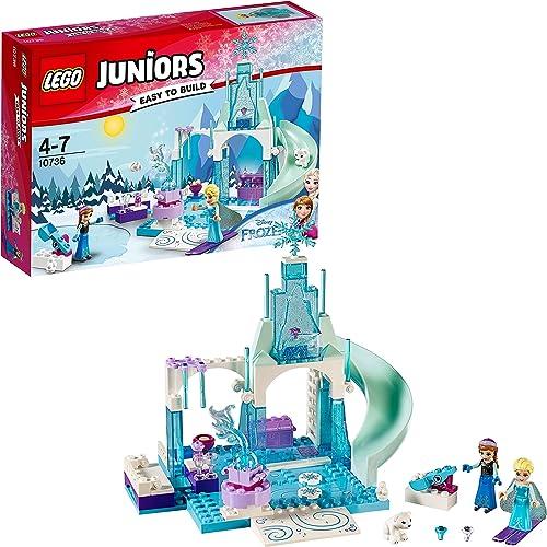 punto de venta en línea LEGO Juniors Princesas Disney Disney Disney - Zona de juegos invernal de Anna y Elsa (10736)  lo último
