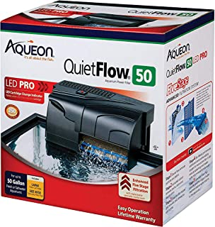 Aqueon QuietFlow LED PRO Aquarium Power Filter 50