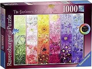 Ravensburger The Gardener's Palette No.1 - Cottage Garden, 1000pc Jigsaw Puzzle