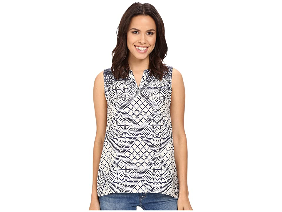 Three Dots Esha Sleeveless Top (Night Iris) Women
