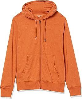 Amazon Essentials Lightweight Jersey Full-Zip Hoodie Fashion-Hoodies Uomo