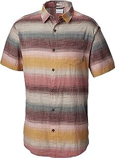 Columbia 男士 Under Exposure 染色短袖衬衫