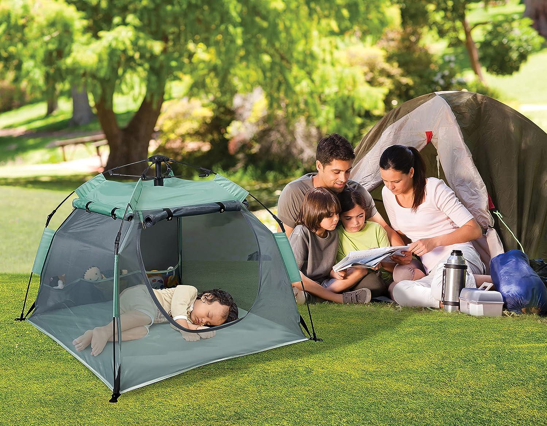 KidCo P5000 Peapod Camp - Seafoam Indoor Outdoor Travel Bed