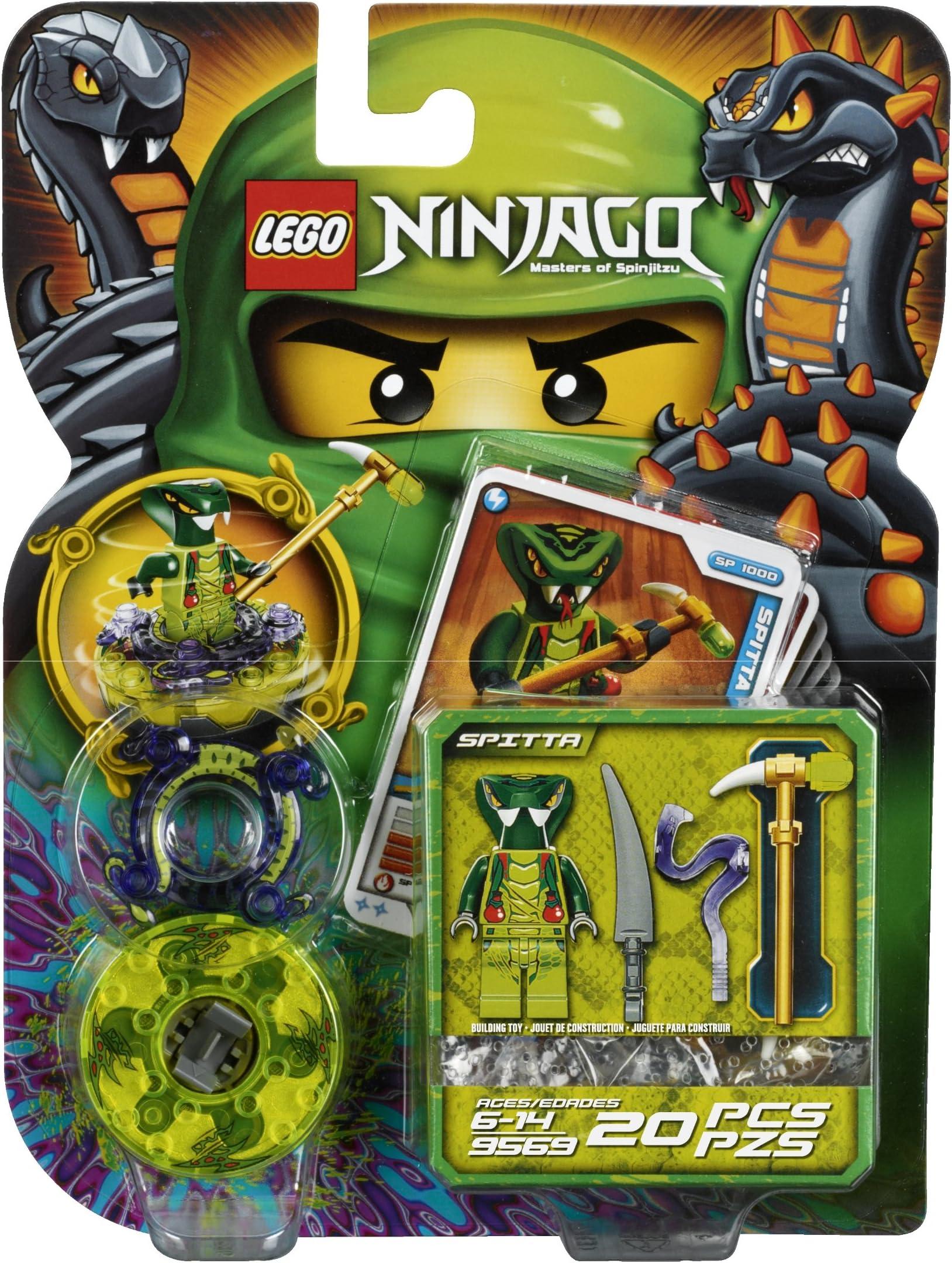 Lot of 2 Ninjago Lego Booster Packs JAY ZX 9553 LIZARU 9557 New Sealed