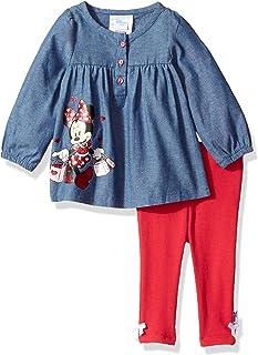 Disney - Juego de Playera y Leggings para bebé, diseño de Minnie Mouse
