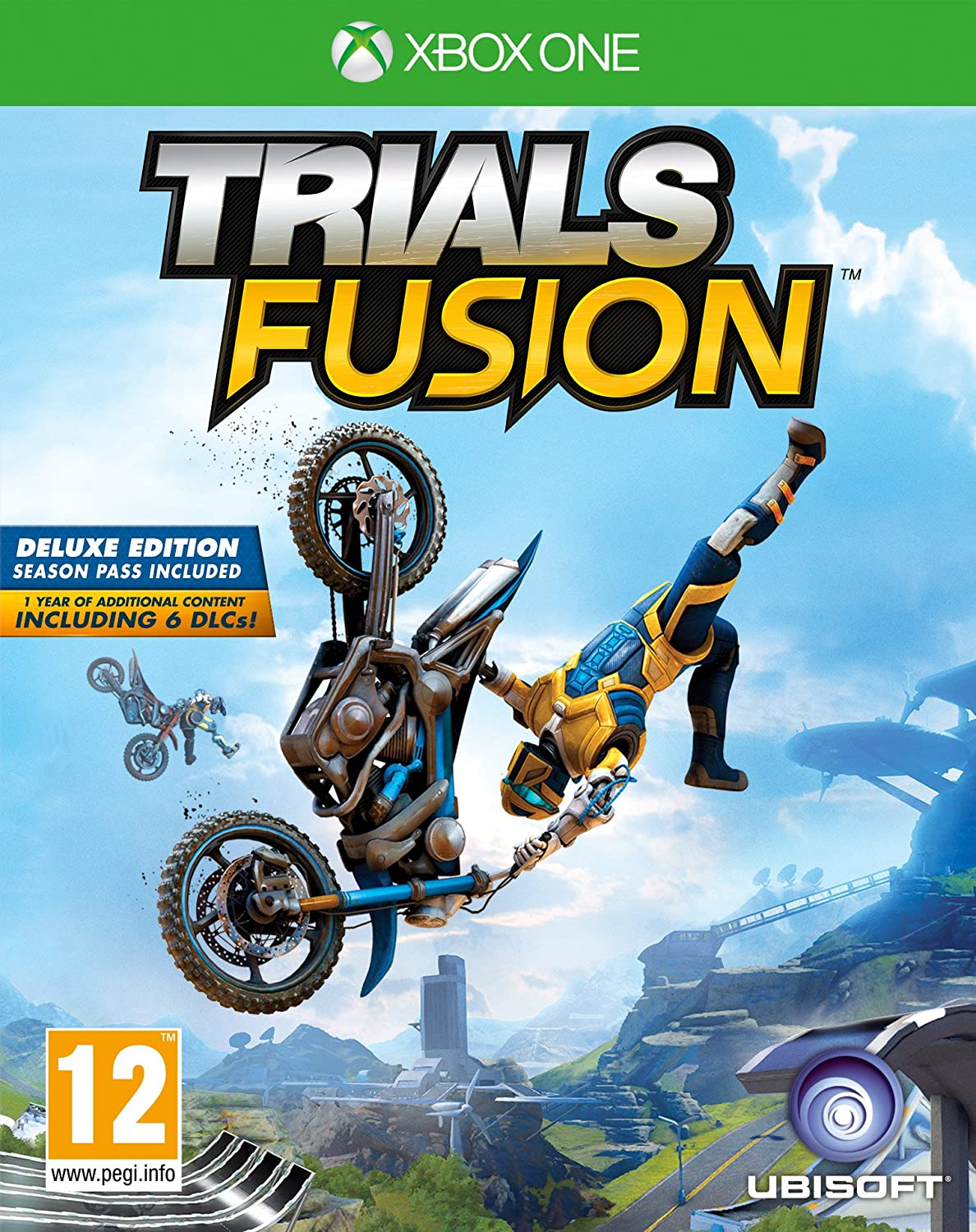 Trials Fusion Deluxe Edition UK One IMPORT Inventory cleanup Houston Mall selling sale Xbox