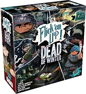 Plan B Games 30030PZG Flick em Up Dead of Winter Game