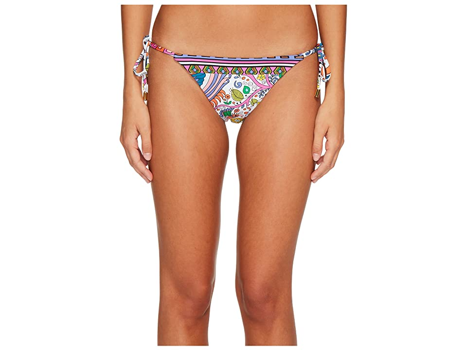 Trina Turk Jungle Beach Tie Side Hipster Bikini Bottom (Multi) Women