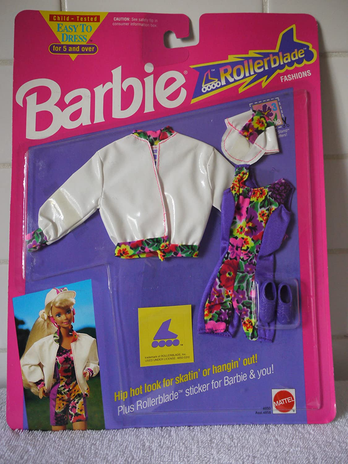 Barbie ROLLERBLADE Fashion  4850 (1991)