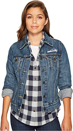 Levi's® Womens Seahawks Sport Denim Trucker