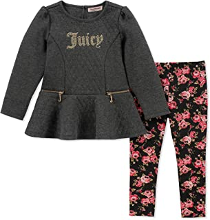 Juicy Couture Baby Girls 2 Pieces Tunic Legging Set