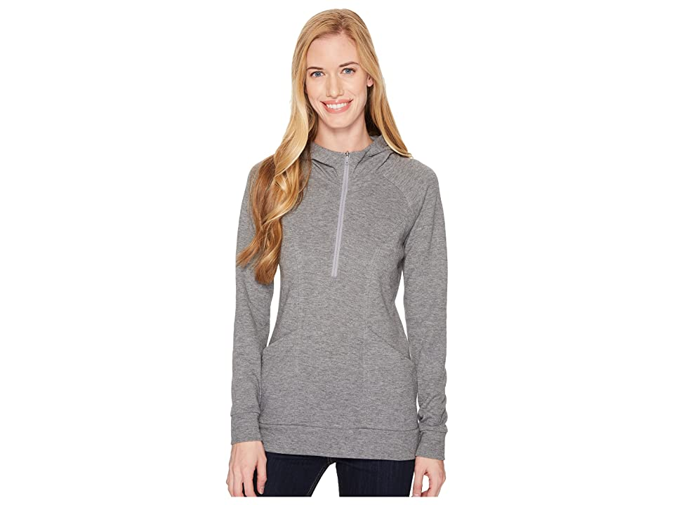 The North Face Om 1/2 Zip (TNF Medium Grey Heather) Women
