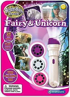 brainstorm E2042 Torch and Projector, Fairy & Unicorn White/Purple