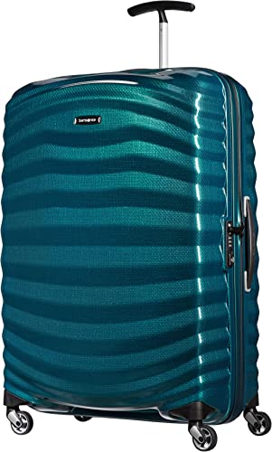 Samsonite Lite-Shock - Spinner L Valise, 75 cm, 98,5 L, Bleu (Petrol Blue)