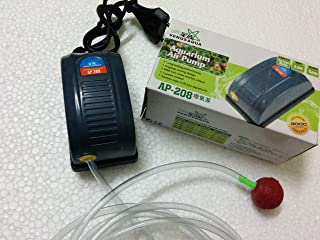 COLOURFUL AQUARIUM - Aquarium Air Pump/Motor + Free Tube and Air Stone (1 Way)