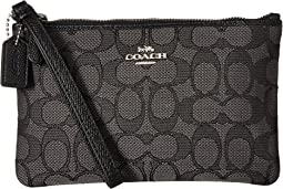 COACH - Signature Small Wristlet