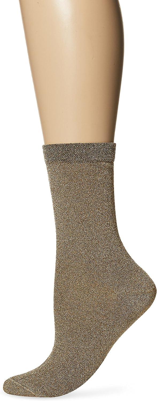 Ozone Women's Lurex Sock, gold