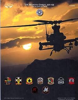 ORDFL35001 1:35 Flying Leathernecks US Marine Corps AH-1Z Viper (ACA kit) [WATERSLIDE Decal Sheet]