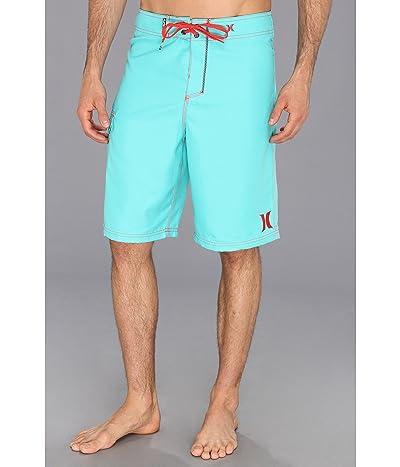 Hurley One Only Boardshort 22 (Bright Aqua/Hot Red) Men