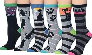 Women's 6-Pairs Value Pack Penguin Novelty Animal Design Funky Winter Socks