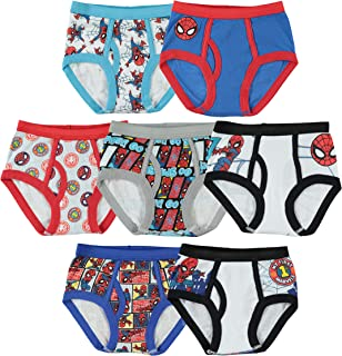 Little Boys' Spiderman Seven-Pack of Briefs