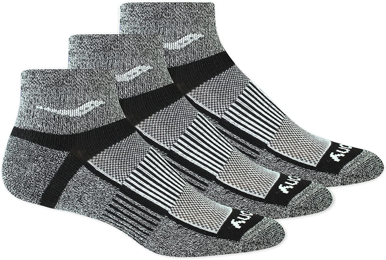 Saucony Unisex Inferno Quarter 3-Pack Socks