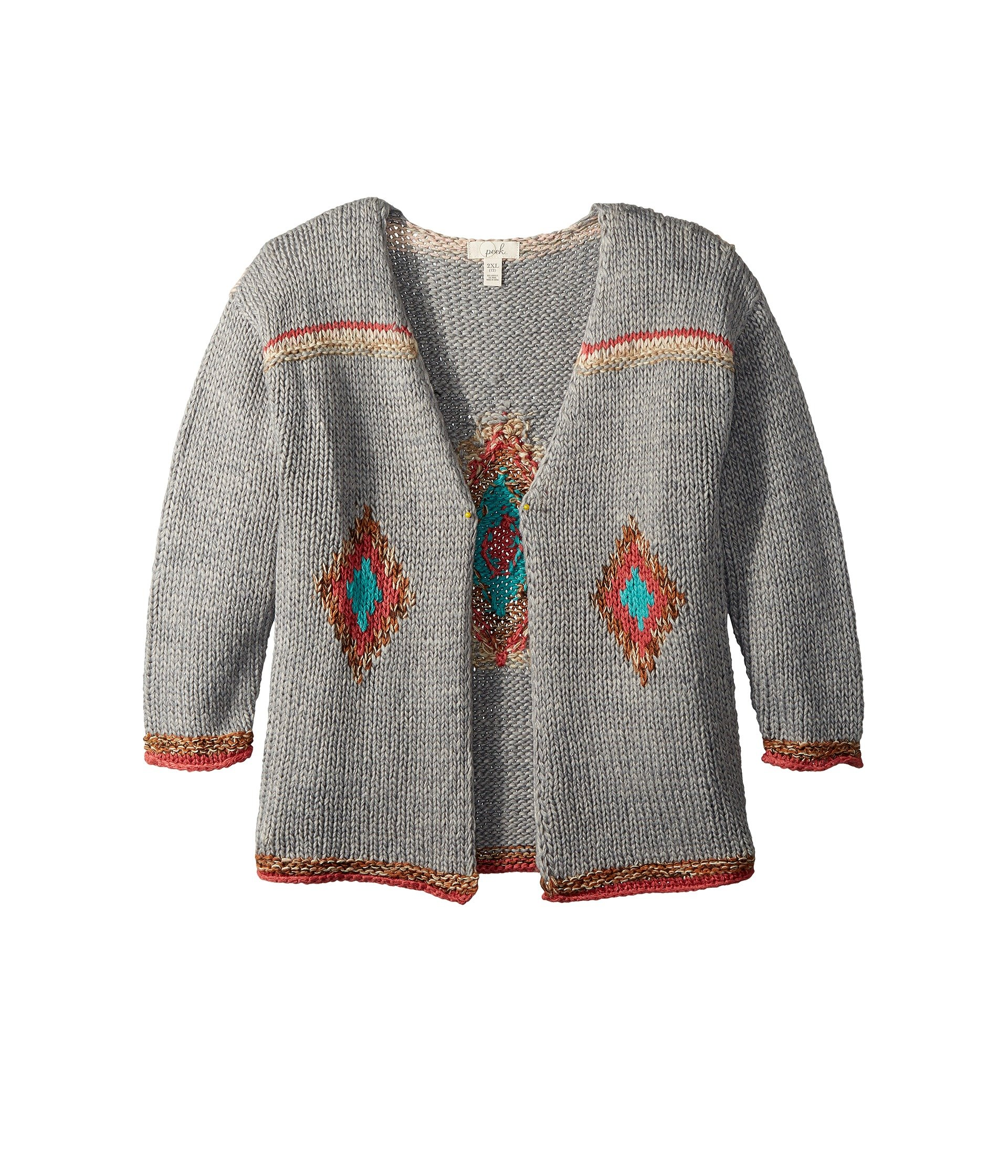 PEEK Marie Cardigan (Toddler/Little Kids/Big Kids) at Zappos.com