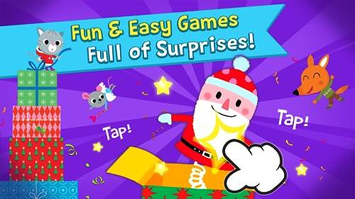 『Pinkfong Christmas Fun: 赤ちゃん・幼児・子供向けのクリスマス歌、ゲーム、カメラ、知育』の4枚目の画像