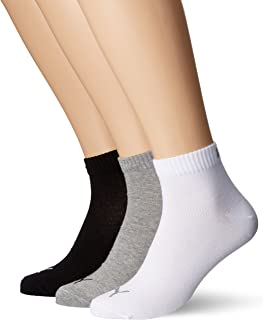 PUMA Quarter Plain Sock (Pack of 3)
