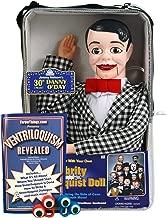ThrowThings.com Bonus Bundle! Danny O'Day Ventriloquist Dummy Doll PLUS Ventriloquism Revealed Booklet PLUS Two Finger gEyes